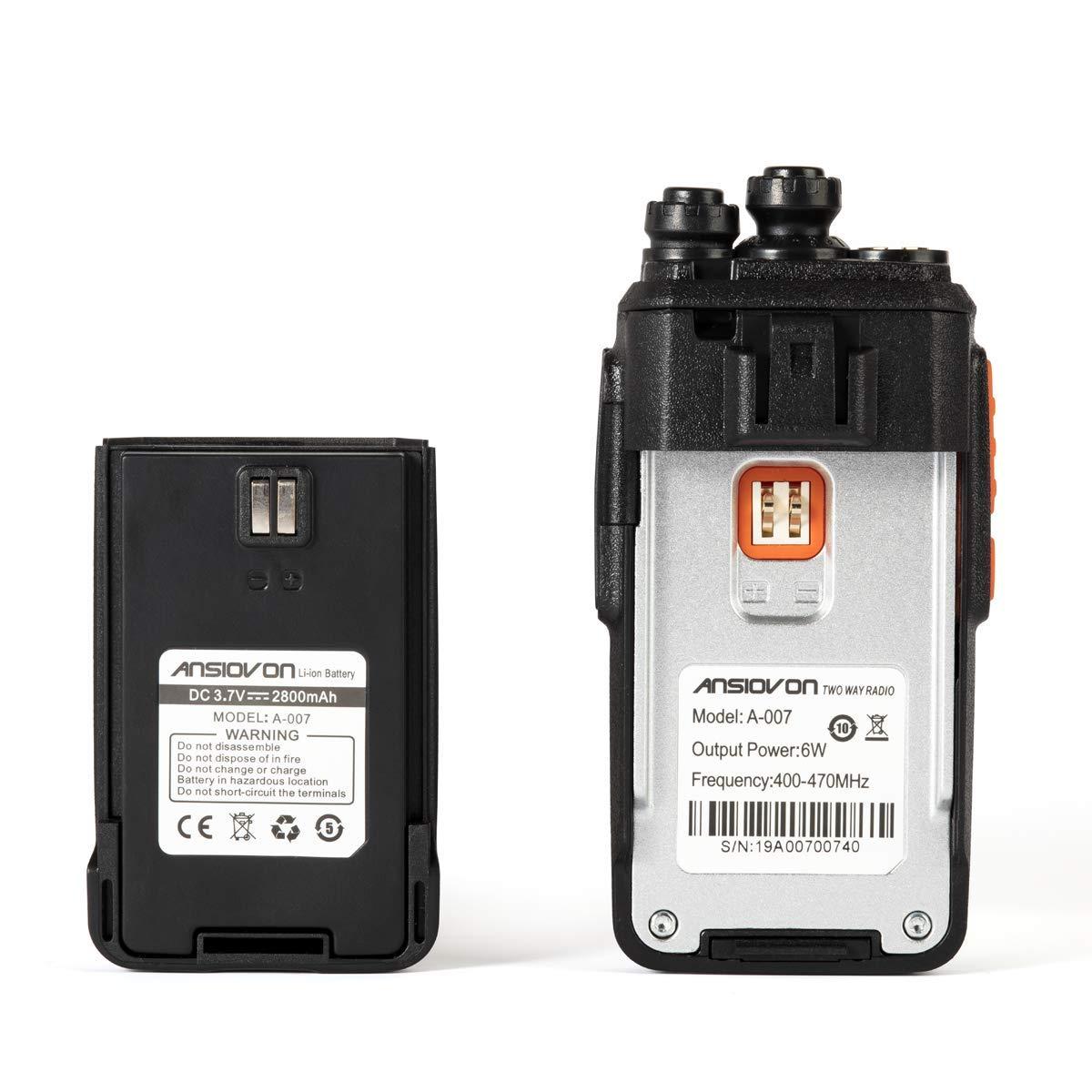 SL 7000e 7550e 7580e 7590e 7550 7580 7590 D-Shape Earpiece with in-Line Mic//PTT for Motorola Radios TLK 100 SL300 SL3500e SL7550e SL7580e SL7590e SL7550 SL7580 SL7590 Headset w//Reinforced Cable