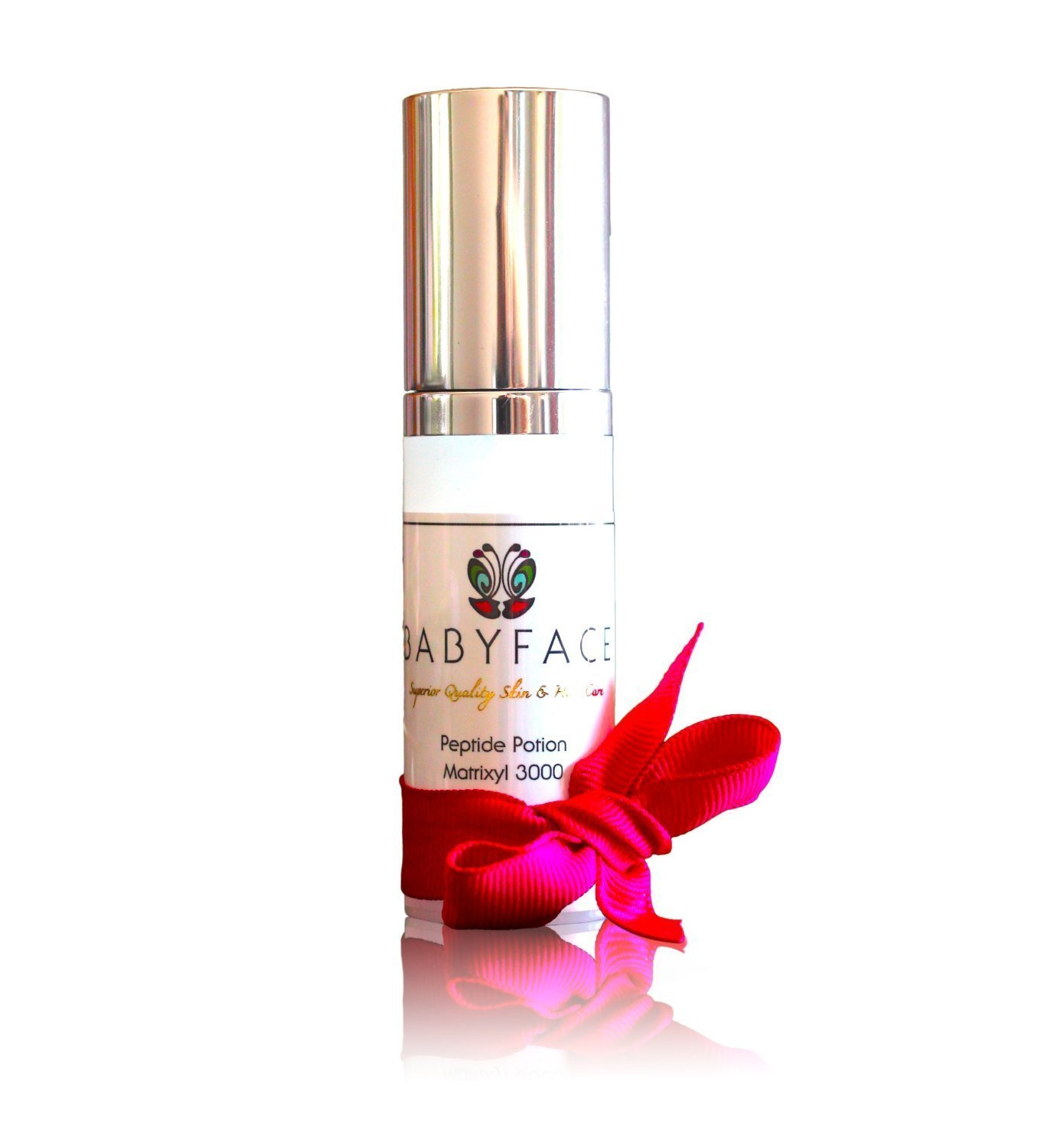 Babyface Skin Tightening Peptide Potion Matrixyl 3000 Concentrated Firming Serum - Anti-Aging, Wrinkle Filler, Instant Tightening Effect 18ml