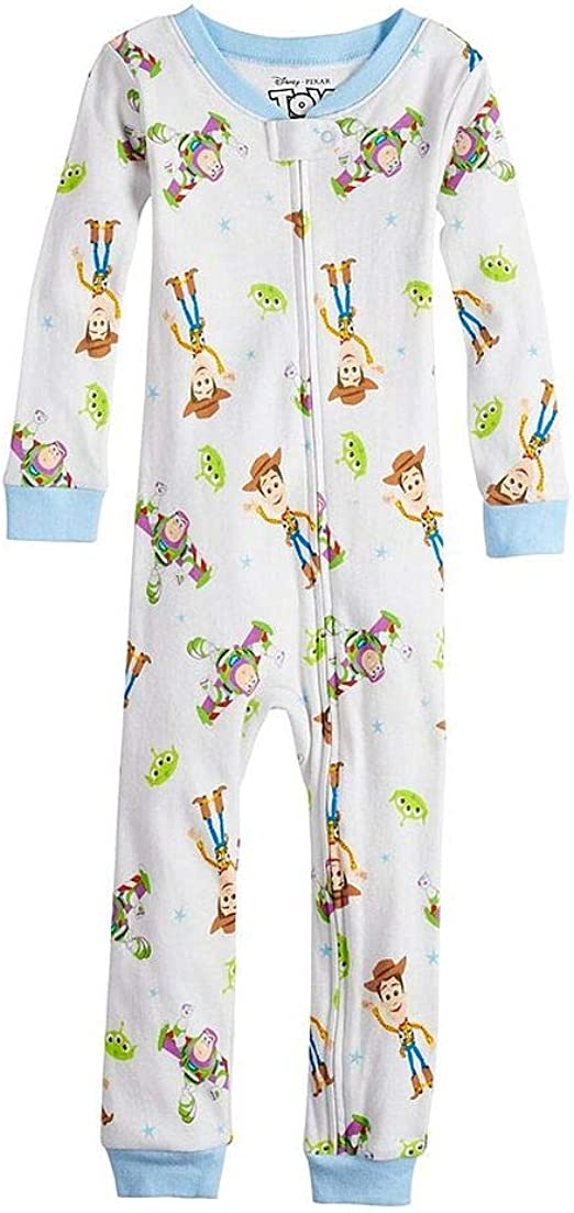 Baby Infant Toddler Kids Boys Toy Story Footed Blanket Sleeper Pajama PJ