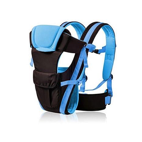 LEORX Portador de bebé, abrigo ajustable arnés mochila recién ...