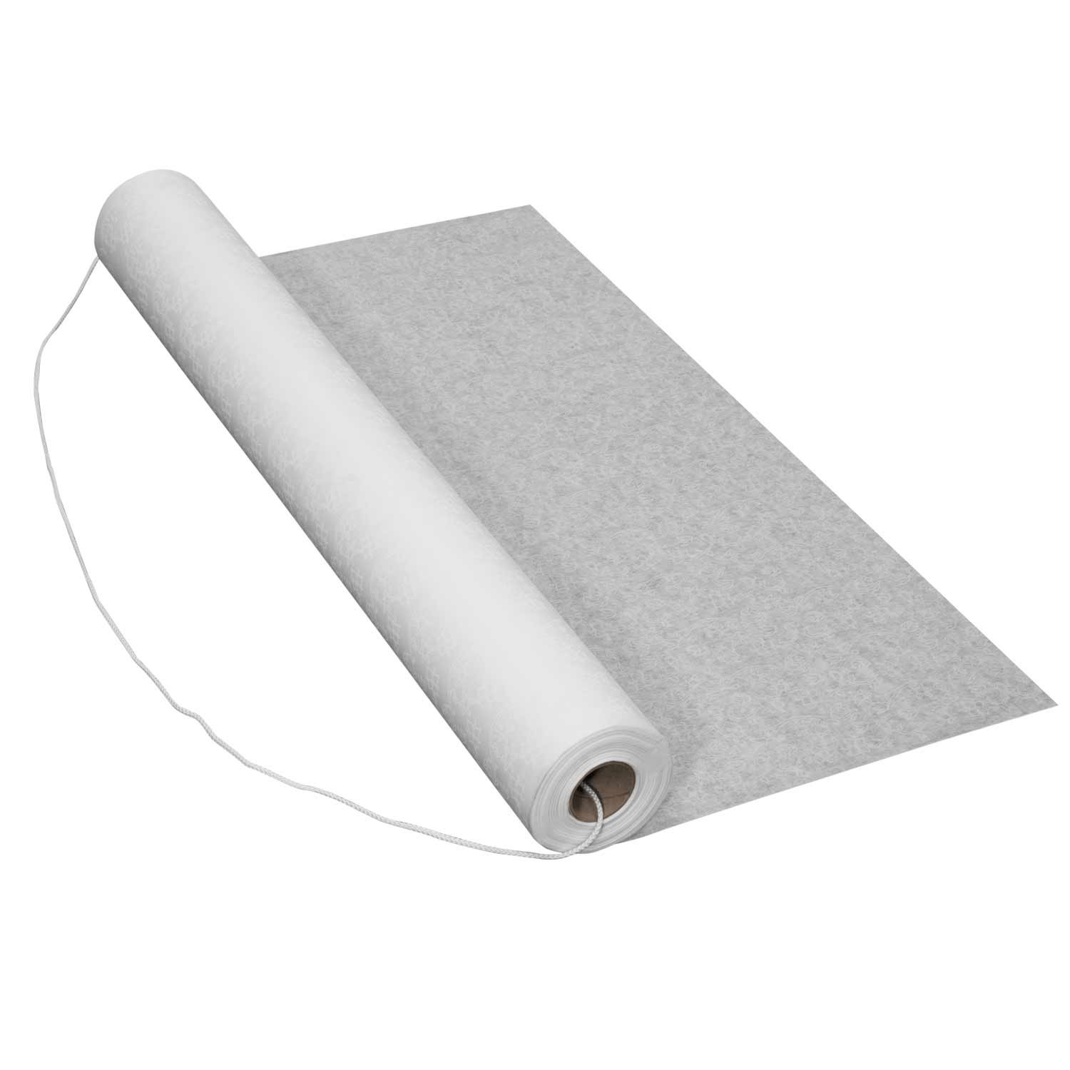 Party Essentials FL50-14 Floral Lace Aisle Runner, 50' Length x 36'' Width, White (Case of 14) by Party Essentials