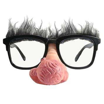 72b24704805e Homyl Novelty Big Nose Old Man Sunglasses Funny Party Fancy Dress Props  Unisex