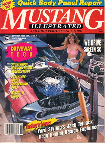 Mustang Illustrated and High Performance Ford Magazine, October 1990 (Vol. 5, No. - Magazine Mustang Performance