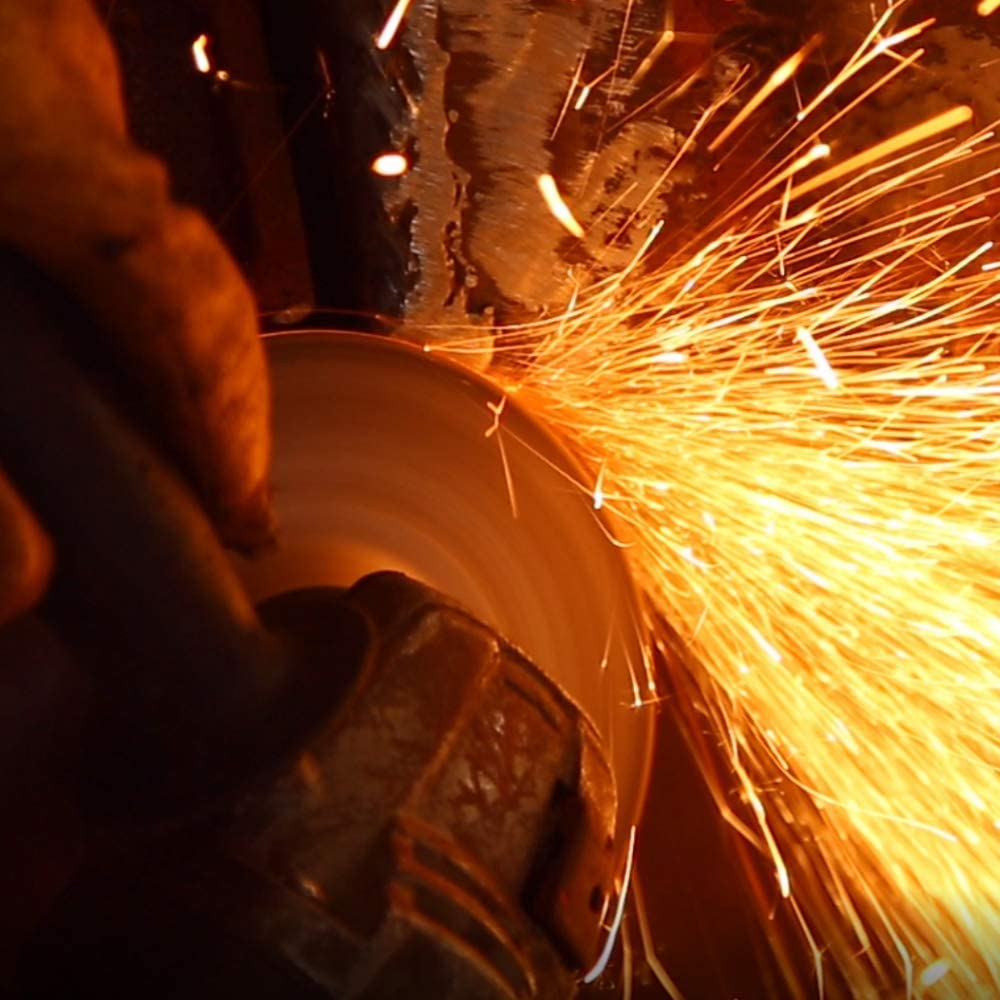 Schleifscheiben f/ür Edelstahl und Metall 100 St/ück Trennscheiben 115 x 6.0 mm Schruppscheiben