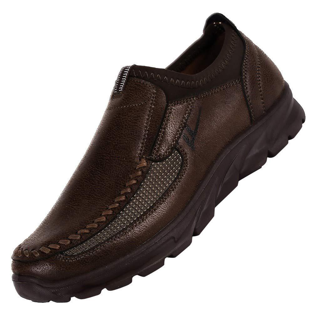 Zzzz Chaussures Homme Durable Automne Hommes Chaussures Simples Respirant Anti-D/éRapant Plate-Forme Sport Fond /éPais dautomne