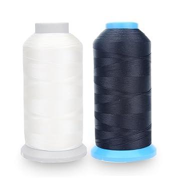 Hilo de coser de nailon laminado de Alohha (1.371,6 m), para