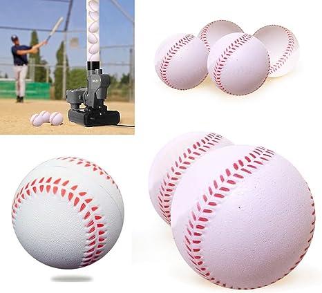 Pelotas de perno iNextStation suave Mini pelotas de béisbol balones de entrenamiento blanco – Pack de 12, blanco: Amazon.es: Deportes y aire libre