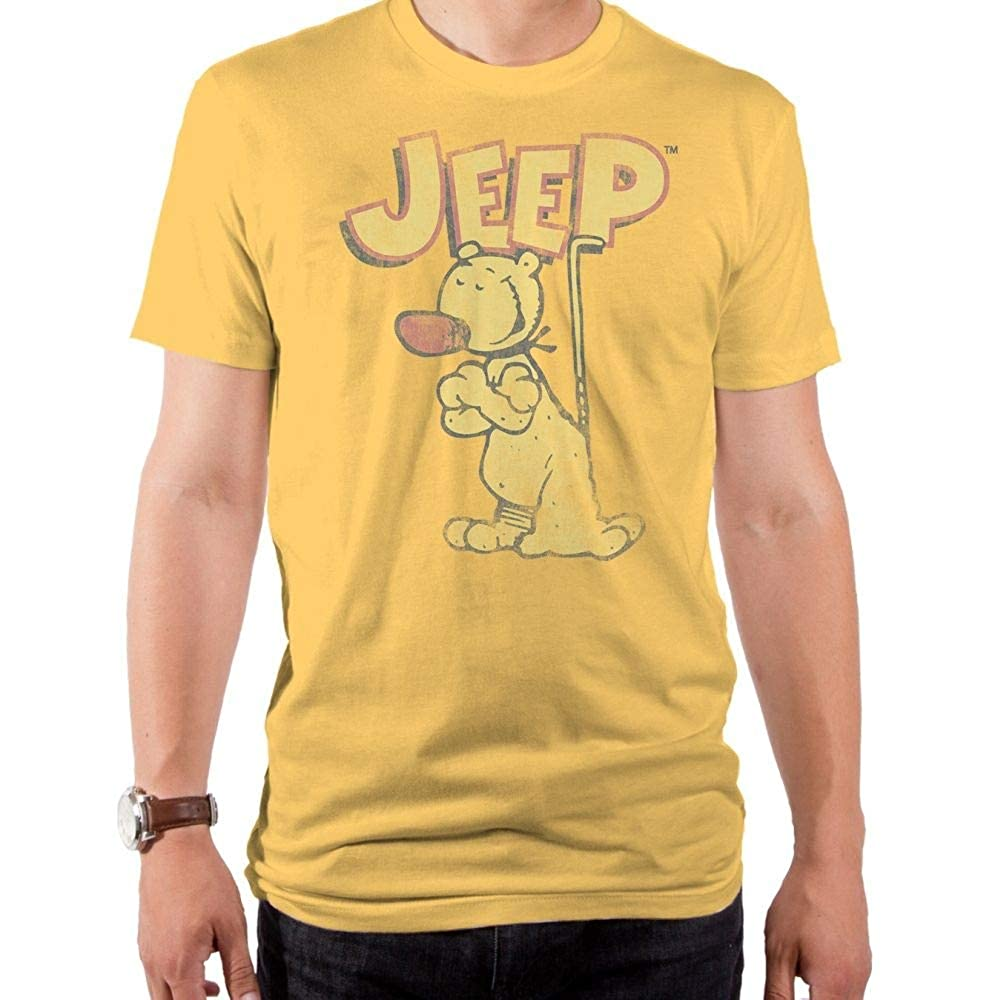 Popeye jeep squash tee