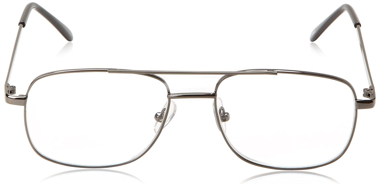 4bfc71171f19 Amazon.com  Foster Grant Simply Specs RR51 GUN Reading Glasses (Gold ...