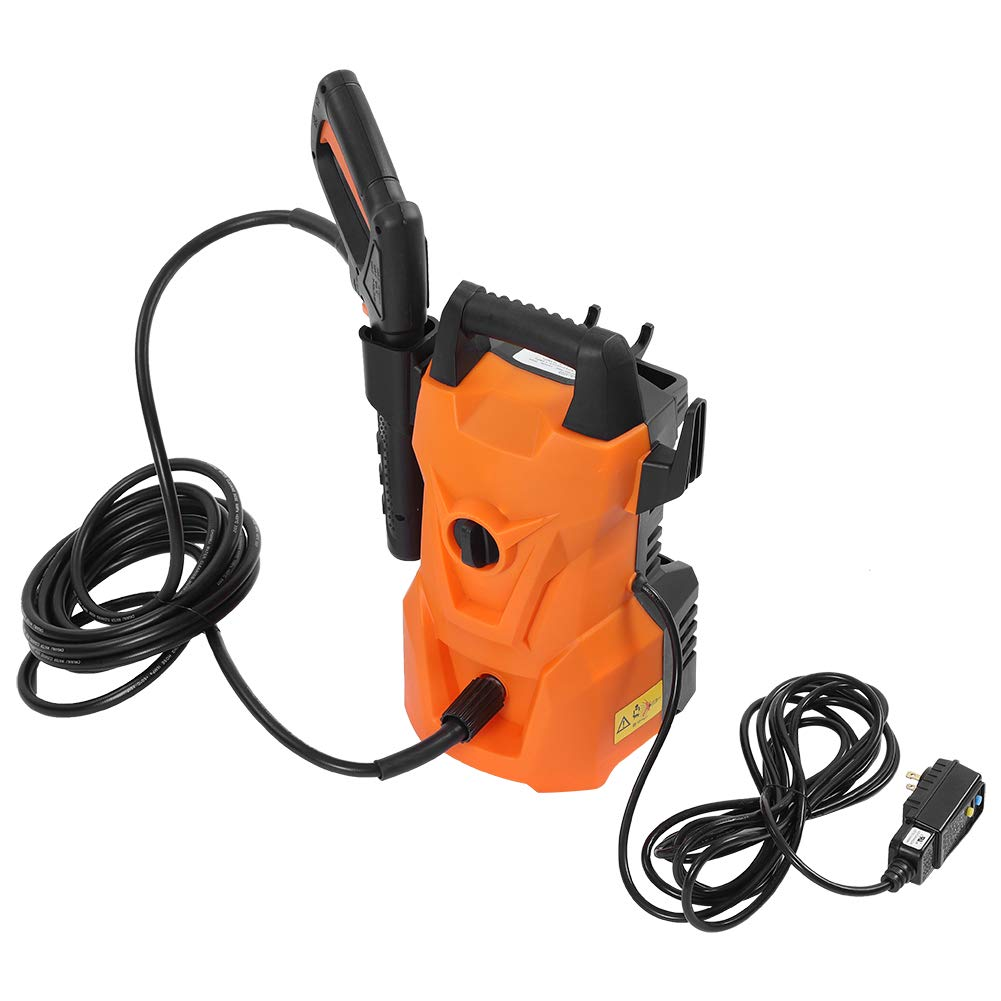 Ejoyous Electric Pressure Washer 1400 PSI 1.6 GPM High Pressure Cleaner 2000W Car Power Washer Machine Powerful Cleaning Equipment with Adjustable Spray Nozzle