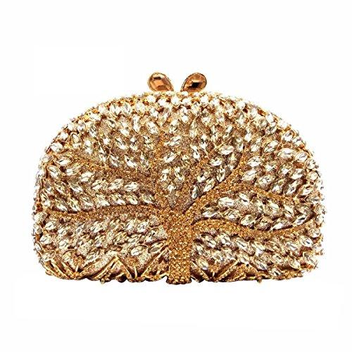 De Soirée Sac De Femmes Des Sac Sac Diamant gold Banquet Main à w8qgEX5Tx