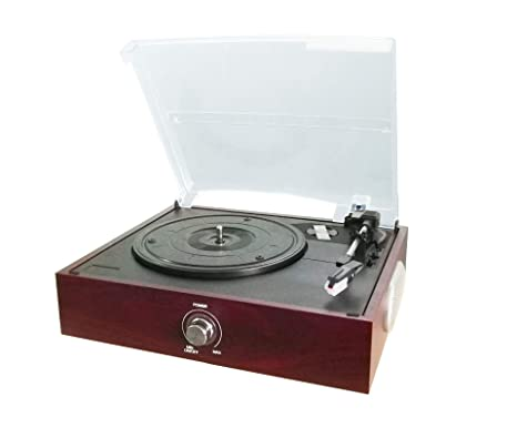 Amazon.com: Lefang Retro Vinyl Record Player Vintage LP ...
