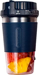 Portable Blender, Cordless Personal Blender Juicer Cup, Mini Mixer, Smoothies Maker Fruit Blender Cup With USB Rechargeable, 13.52 Oz for Home, Office, Sports, Travel, Outdoors (Starry Blue)