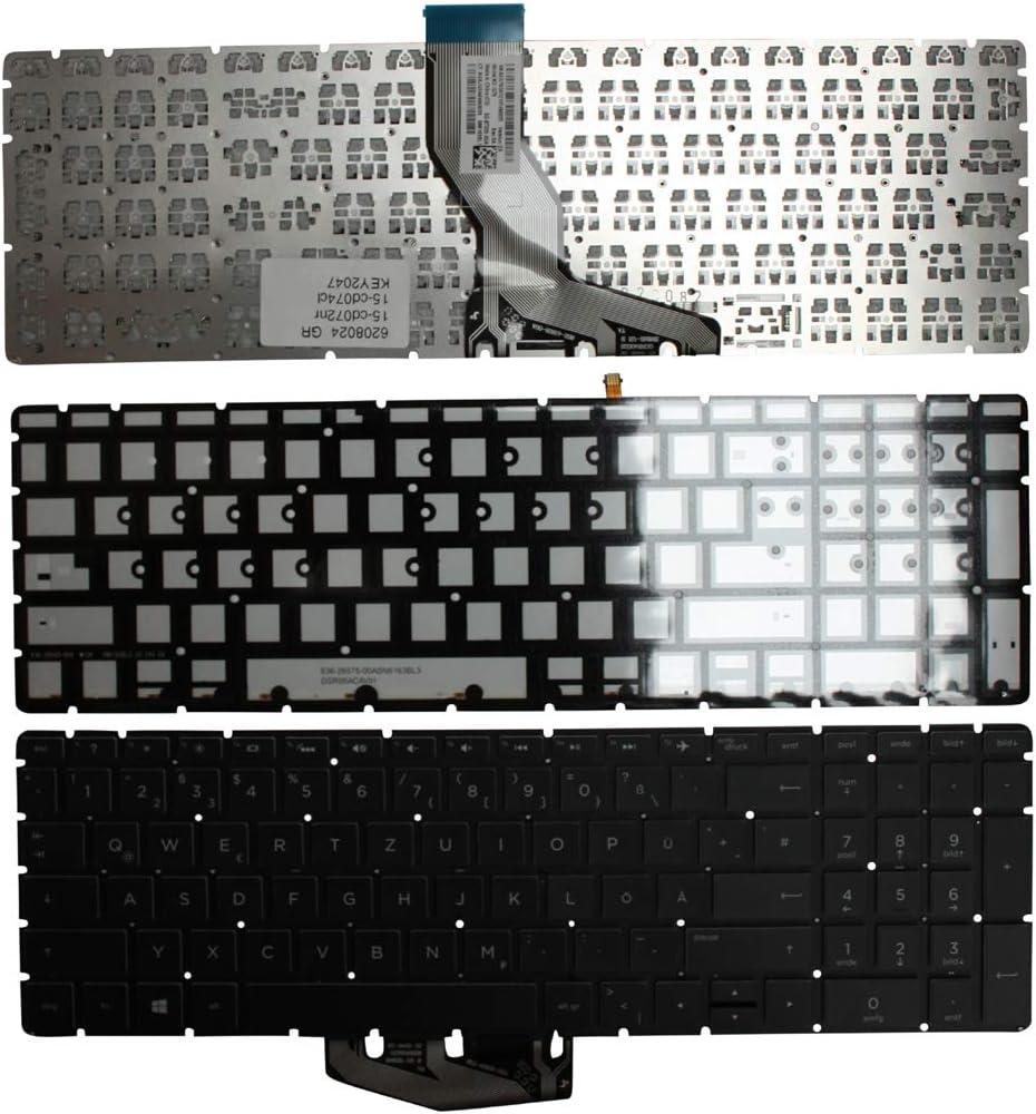 HP Pavilion 15-cd019AU HP Pavilion 15-cd018AU Keyboards4Laptops German Layout Backlit Silver Windows 8 Laptop Keyboard for HP Pavilion 15-cd017ur HP Pavilion 15-cd018AX HP Pavilion 15-cd018ur
