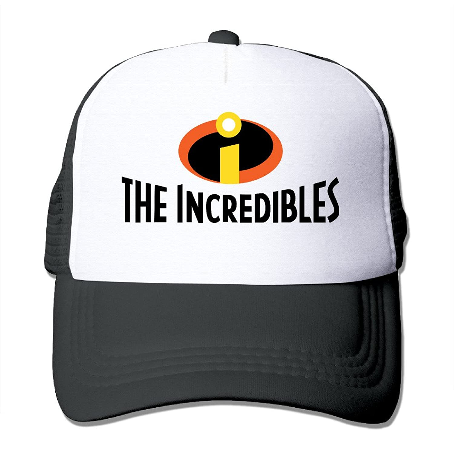 Zengbaba Unisex The Incredibles Logo Adjustable Mesh Baseball Hats Caps