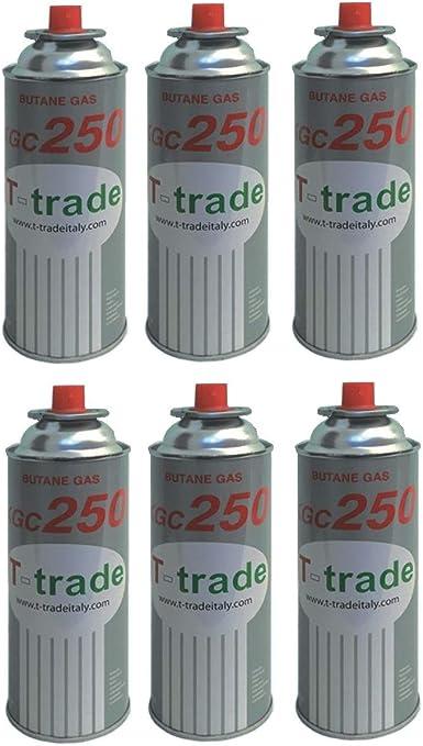 altigasi 6 unidades – Cartucho Bote de gas licuado 250 gr Art ...