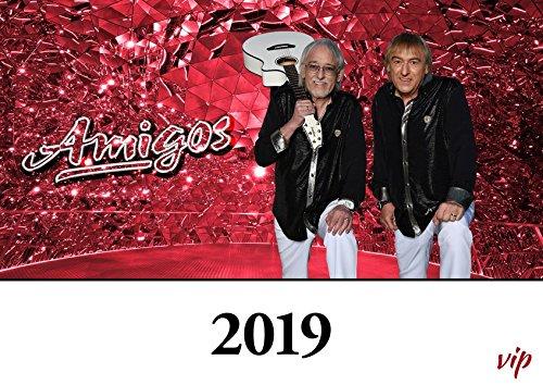 Die Amigos 2019: Der offizielle Star-Kalender