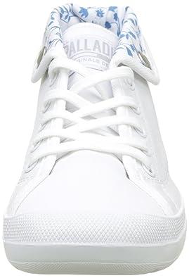 Palladium Aventure Canvas, Sneaker a Collo Alto Donna, Grigio (Rainy Day/Marshmallow L72), 36 EU