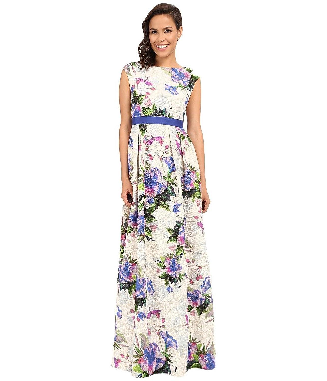 Amazon.com: Adrianna Papell Women\'s Tropical Floral Ball Dress ...
