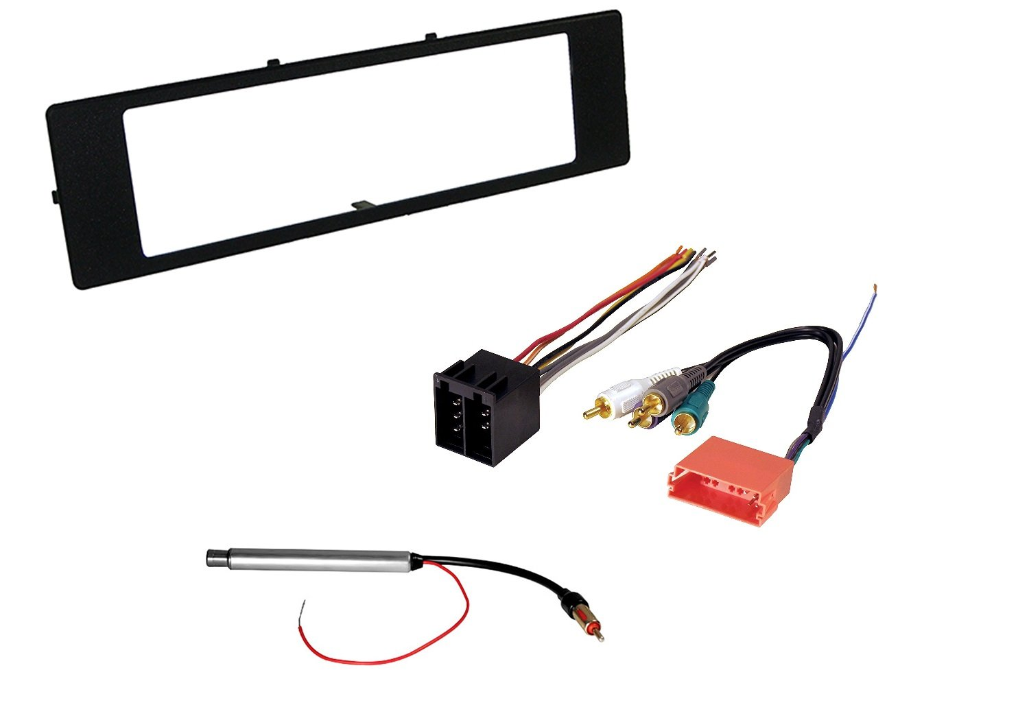 Audi Car Stereo Radio Kit Dash Installation Trim Bezel With Bose Wiring Harness For