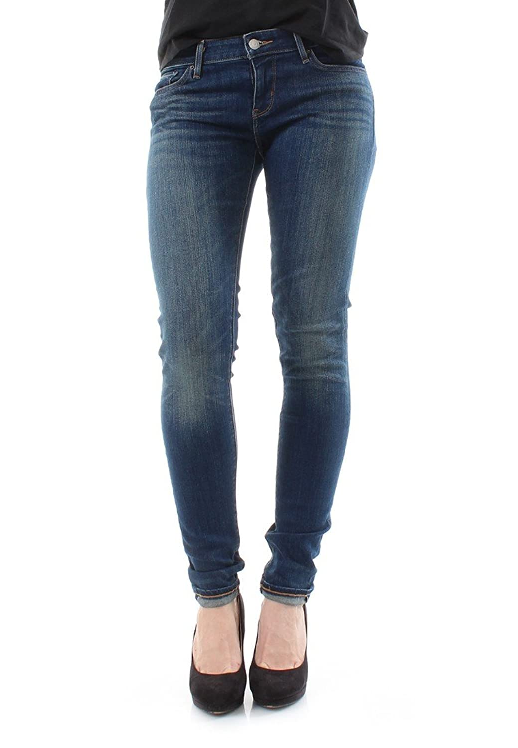 Levis Jeans Women 711 SELVEDGE SKINNY 22848-0003 Resurrection