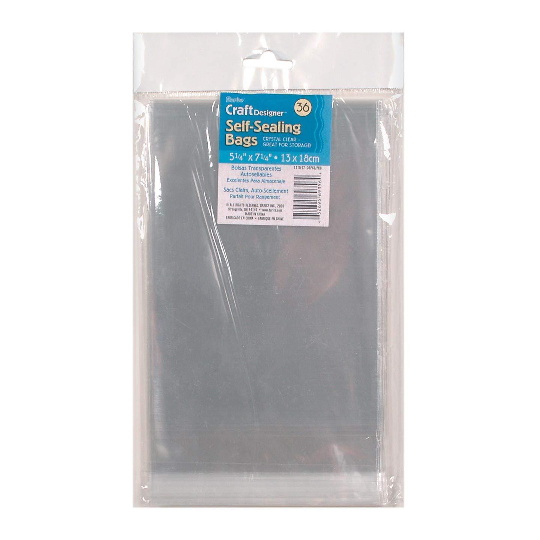 Amazon.com: Bulk Buy: Darice DIY Crafts Bags Self Sealing ...
