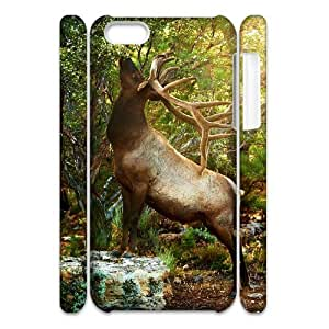 Winfors Deer Phone 3D Case For Iphone 5C [Pattern-3]