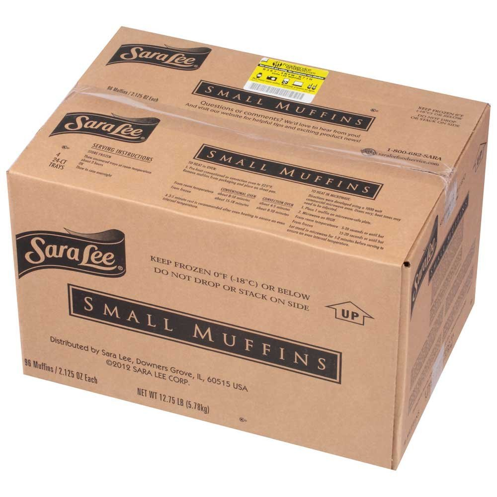 Chef Pierre Small Blueberry Muffin, 2.13 Ounce -- 96 per case. by Sara Lee (Image #3)