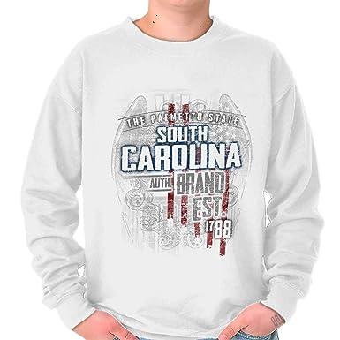 Carolina del Sur Estado Estados Unidos T Shirt Patriotic American Eagle Sudadera de regalo - Blanco - : Amazon.es: Ropa y accesorios