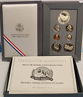 1991 US Mint Prestige Proof Set Original Government Packaging