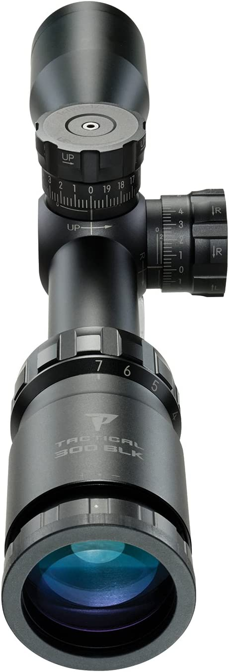 best 300 blackout scope: Nikon P-Tactical 300 BLK 2-7×32 Matte BDC Supersub