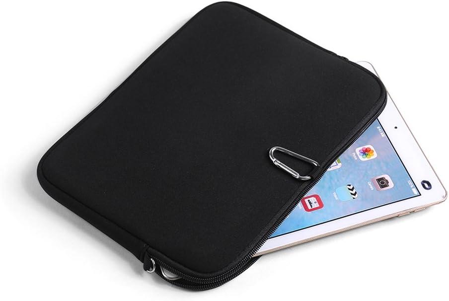 Compatta E Facile da Pulire Leggera K-S-Trade Compatibile con -HP Slate 10 HD- Manicotto in Neoprene Custodia Protettiva Compatibile con Cintura Borsa da Viaggio Sleeve Clip Sottile Piccola
