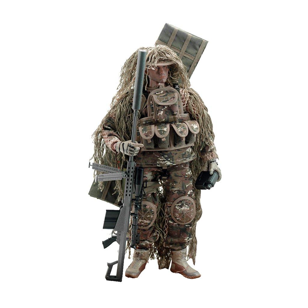 1.6 Ee Uu Soldado Todo Terreno De Accion De Francotiradores Figura 12 Pulgadas Generico