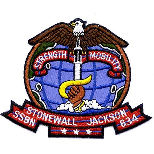(SSBN-634 USS Stonewall Jackson Patch)