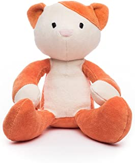 "product image for Bears For Humanity Kitty Stuffed Animal - Organic Cat is a Non-Toxic, 12"" PlushToy"