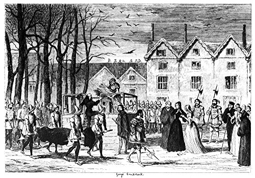 - Cruikshank Tower Of London NJane Meeting The Body Of Her Husband On Her Way To The Scaffold The Execution Of Lady Jane Grey And Her Husband Lord Guilford Dudley 12 February 1554 Etching By George Crui