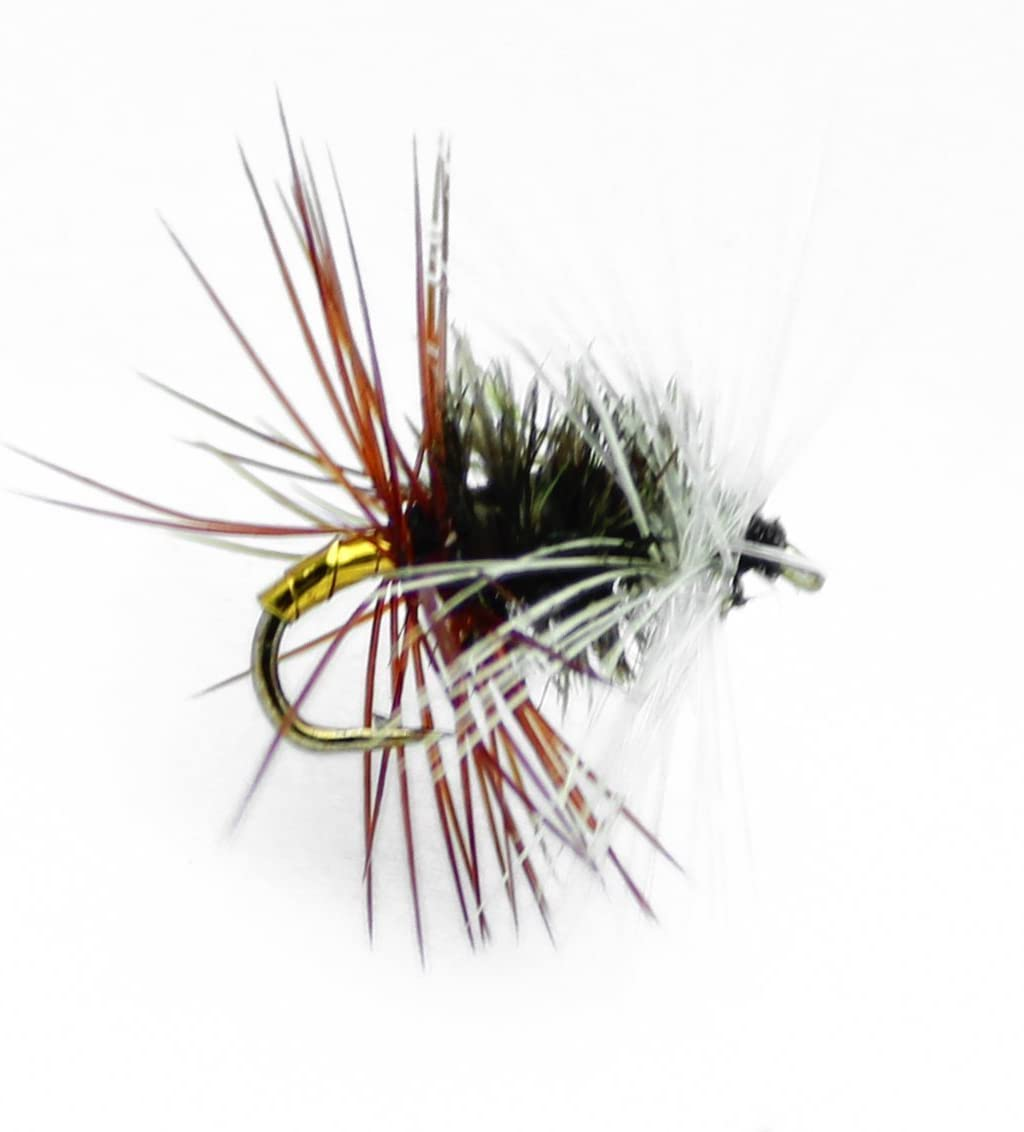 Twelve Fly Fishing Flies Your Choice Hook Size /& Color Double Bead Stoneflies