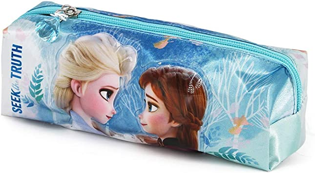 Karactermania Frozen 2 Seek - Estuche Portatodo Cuadrado, Multicolor: Amazon.es: Equipaje