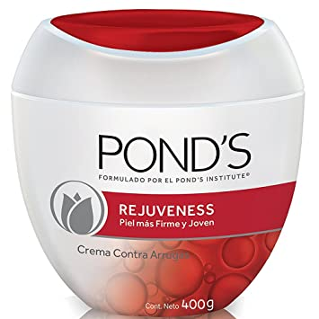 Ponds Rejuveness Anti-Wrinkle Cream 14oz, Crema Ponds Rejuvecedora Contra-Las Arrugas 400gr