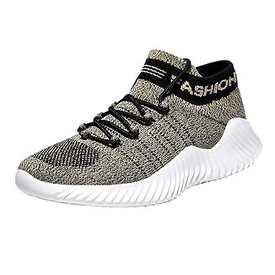nuovo stile 0eeb0 bf81e Oyedens Scarpe da Corsa su Strada Uomo Sneaker Sportive ...