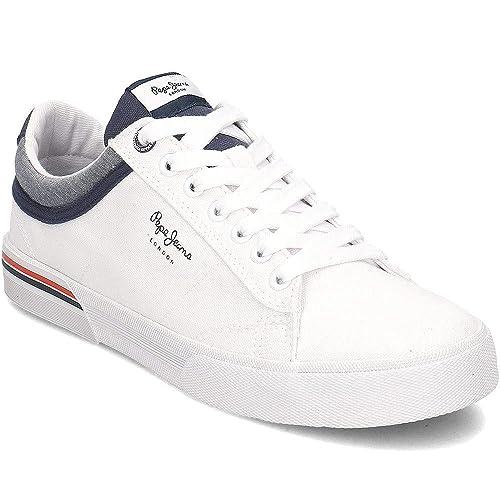 Pepe Jeans North Court, Zapatillas para Hombre: Amazon.es: Zapatos y complementos
