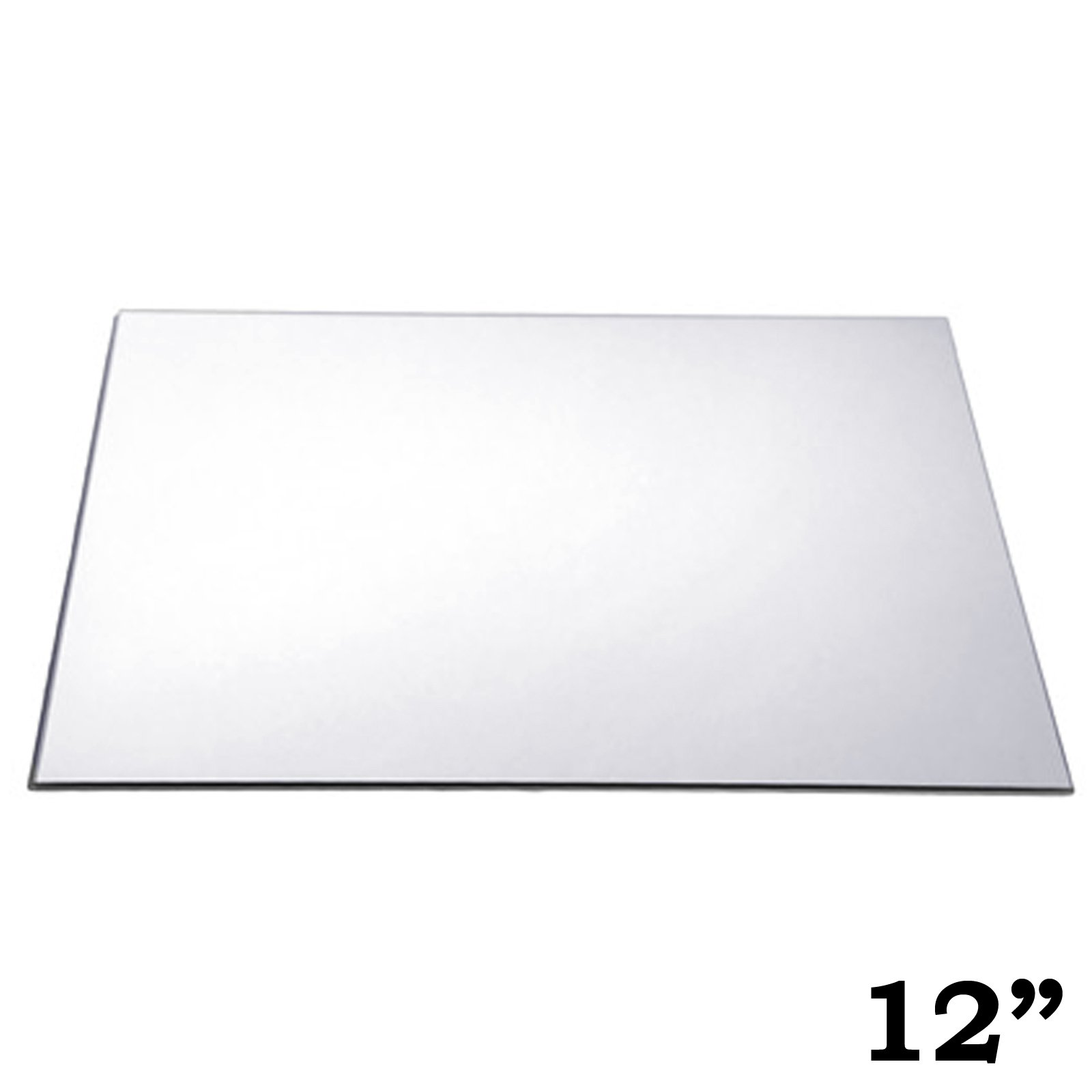 BalsaCircle 8 pcs 12-Inch Square Glass Mirrors for Wedding Party Favors Centerpieces Table Decorations Wholesale Supplies by BalsaCircle