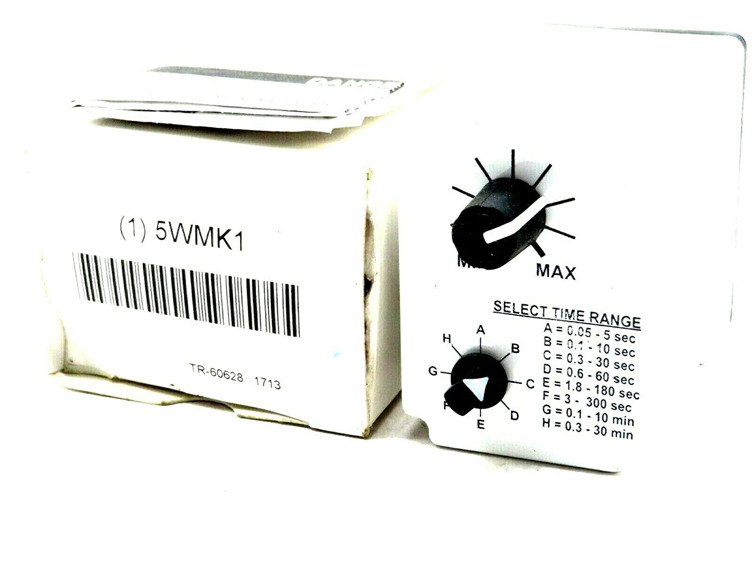 TR-60628 MACROMATIC Time Delay Relay,24VAC//DC,10A,DPDT