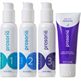 Prosoria 3-Step (60 Day) Daily Psoriasis Treatment System with Clinical Strength and Natural Pro-Botanical Ingredients…