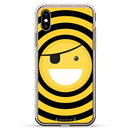 Amazoncom Emoji With Eye Patch Luxendary Air Series Clear