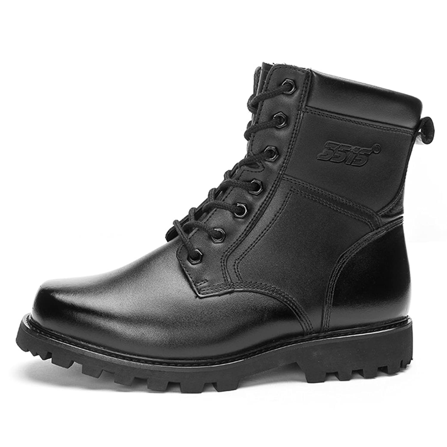 winter shoes/Leather keep warm plus down outdoor climbing shoes