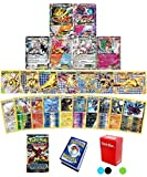 Pokemon TCG Guaranteed EX, Mega or BREAK - Steam Siege Booster Pack - 30 Card Elite Trainer Kit Lot Free Deck Box - Holo Foil Rare Common Uncommon Ra