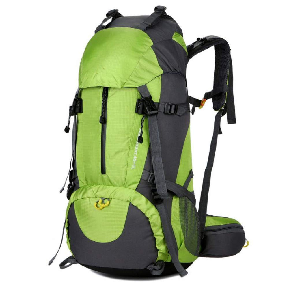 HUYANNABAO 50L Outdoor Climbing Sport Bag Backpack Rucksack Waterproof Hiking Backpacks Camping Bag W//Rain Cover