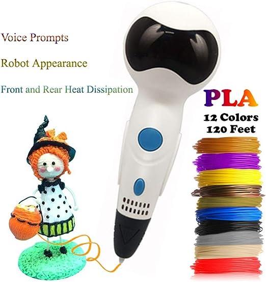 Dikale más 3D Scribble Pen Voz Robot 3D Dibujo Impresora 3D ...
