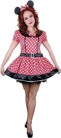 fashioncrazexx - Disfraz Sexy de Minnie Mouse para Mujer (Adulto ...